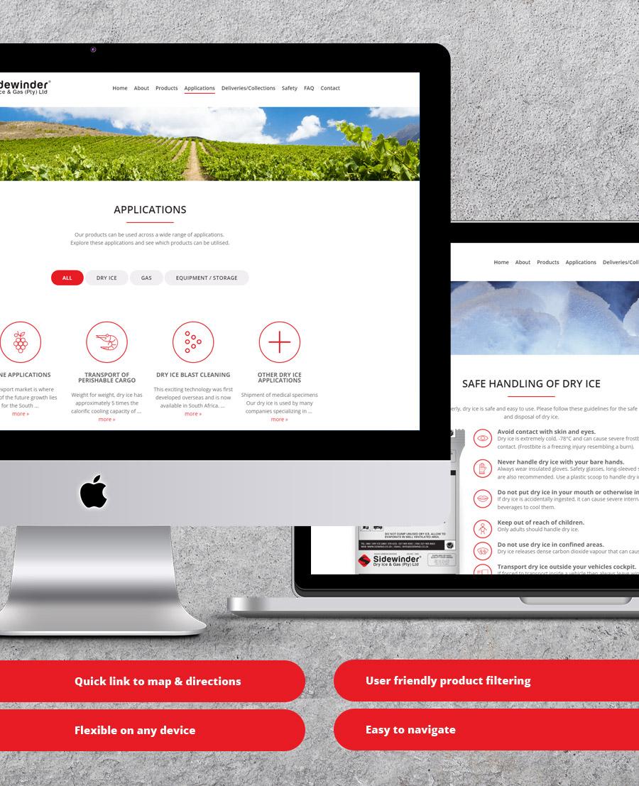 Sidewinder Website