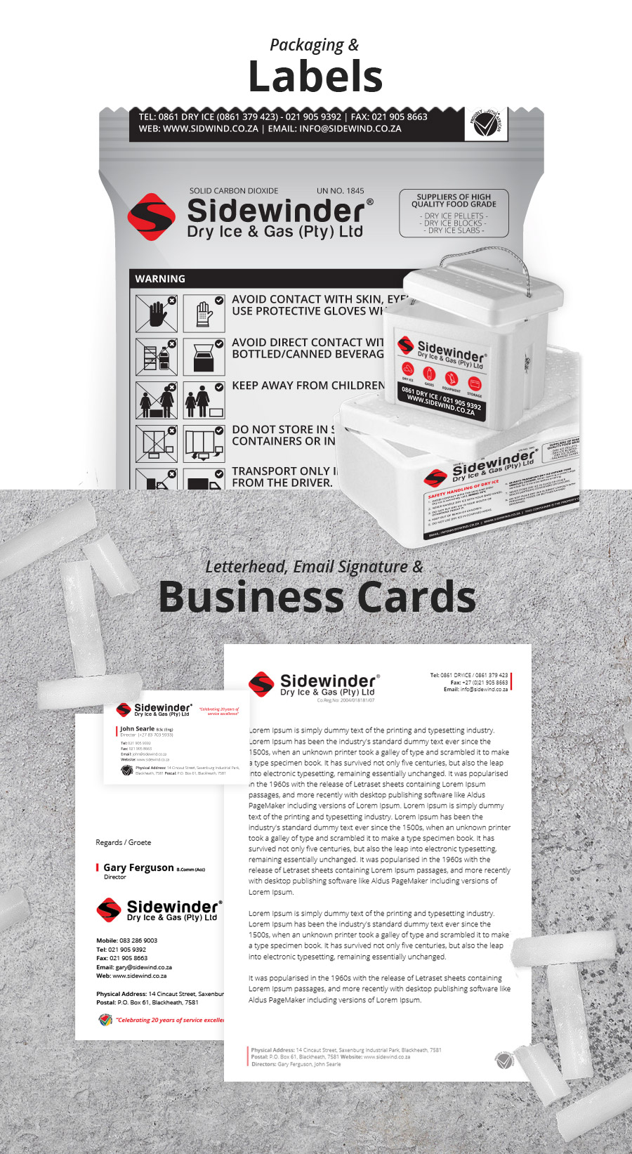 Sidewinder Packaging & Stationery