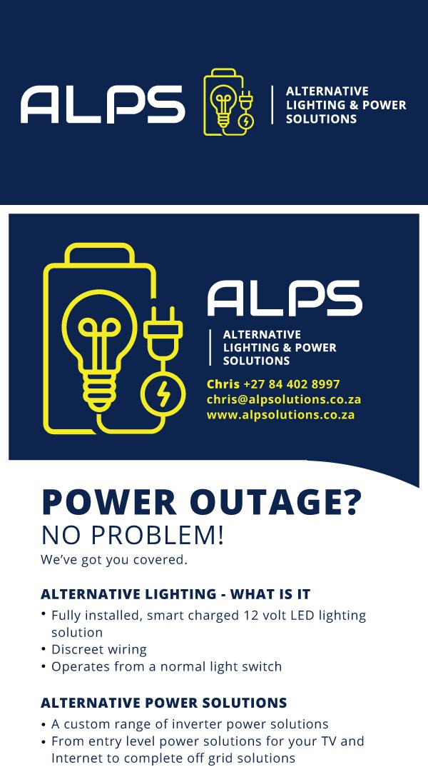 ALPS logo & flyer design