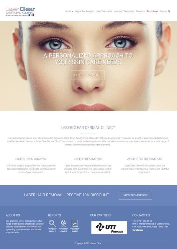 Laser Clear Website