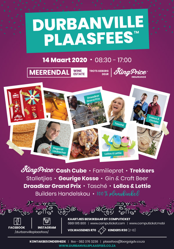 Durbanville Plaasfees 2020