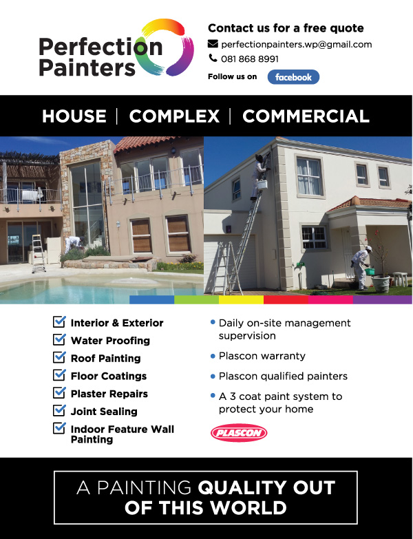 Perfection Painters Flyer Design
